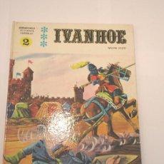 Cómics: COMIC IVANHOE - TAPA DURA -1970. Lote 3779340