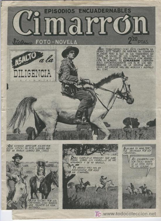 CIMARRON ORIGINAL Nº 4 RARA MUESTRA, ++ (Tebeos y Comics Pendientes de Clasificar)