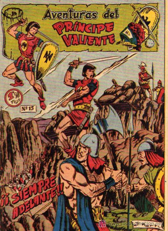 AVENTURAS DEL PRINCIPE VALIENTE Nº 15 (Tebeos y Comics - Buru-Lan - Principe Valiente)
