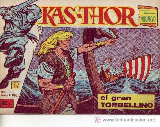 COMIC KAS-THOR Nº 18 AÑO 1963 (Tebeos y Comics Pendientes de Clasificar)