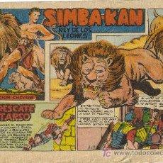 Cómics: SIMBA-KAN ( MARCO ) ORIGINALES 1960-61 LOTE. Lote 26288602