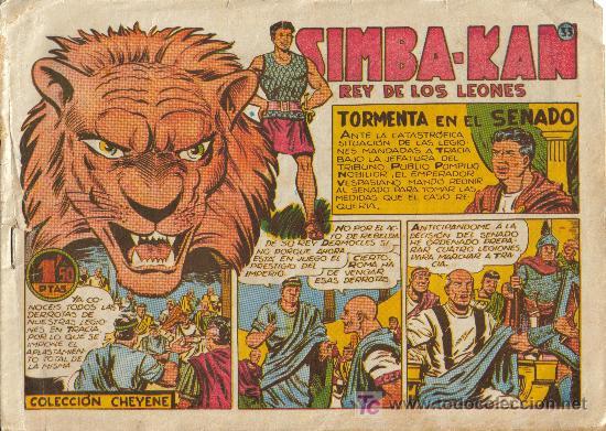 Cómics: SIMBA-KAN ( MARCO ) ORIGINALES 1960-61 LOTE - Foto 2 - 26288602
