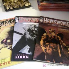 Cómics: HAWKWORLD. OBRA COMPLETA. 3 EJEMPLARES.. Lote 11326584