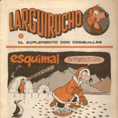 Cómics: SUPLEMENTO DE COMICS 'LARGUIRUCHO', DE LA REVISTA PETETE. Nº 6.. Lote 5249554