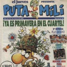 Cómics: EL JUEVES - PUTA MILI - Nº 90. Lote 5298854