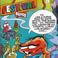 Comics : FESTIVAL BICHOS Nº 6 (16, 17 Y 18). IMPECABLE.. Lote 26816379