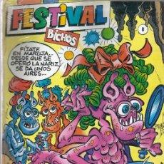 Comics : FESTIVAL BICHOS Nº 8 (BICHOS 22, 23 Y 24). IMPECABLE.. Lote 217761008