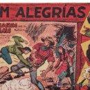Cómics: COMIC JIM ALEGRIAS Nº8 -ORIGINAL DEL AÑO 1960 - LA CADENA HUMANA.SERIE EL GAVILAN.. Lote 27396547