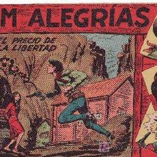Cómics: COMIC JIM ALEGRIAS Nº13 -ORIGINAL DEL AÑO 1960 - EL PRECIO DE LA LIBERTAD. Lote 27617650