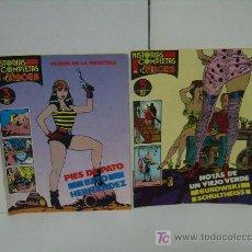 Cómics: LOTE DE 2 COMICS PARA ADULTOS ( EL VIBORA ). Lote 16987384