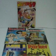 Cómics: LOTE DE 5 COMICS PARA ADULTOS ( DIFERENTES ). Lote 19038303