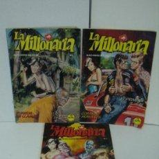 Cómics: LA MILLONARIA PARA ADULTOS ( 3 REVISTAS ). Lote 24823509
