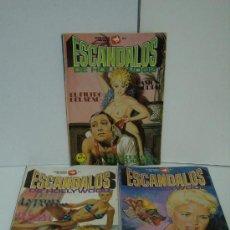 Cómics: ESCANDALOS DE HOLLYWOOD ( 3 REVISTAS PARA ADULTOS ). Lote 17444613