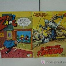 Cómics: 2 COMICS,1 ZIPI Y ZAPE - 1 CAPITAN TRUENO. Lote 5936536