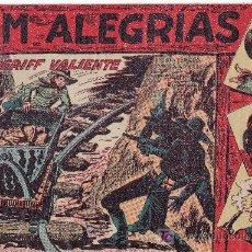 Cómics: JIM ALEGRIAS Nº16 DEL AÑO 1960 ORIGINAL. Lote 24536817