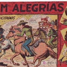 Cómics: JIM ALEGRIAS Nº17 DEL AÑO 1960 ORIGINAL - LOS RESUCITADOS. Lote 23882903