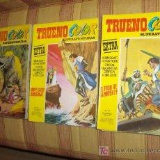 Cómics: LOTE 11 TRUENO COLOR EXTRA 2ª ÉPOCA CON LOS ÚLTIMOS. BRUGUERA 1975. SE VENDEN SUELTOS!!!!!!!!!!!!!!!. Lote 13361760