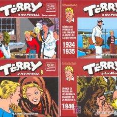 Cómics: TERRY Y LOS PIRATAS POR MILTON CANIFF. COLECCION COMPLETA (16 TOMOS + 1 TOMO ESPECIAL). Lote 26629045