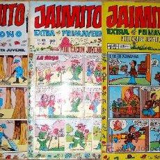 Cómics: EXTRAS PRIMAVERA 1974 Y 1977, EXTRA OTOÑO 1978 . Lote 13717460