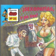 Comics: COMIC DE HUMOR Y EROTISMO : COLECCION EL CUERVO - NUMERO 22. Lote 26521694