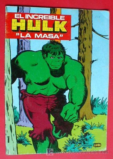 El Increible Hulkcomic Para Colorear 1981 Envio Gratis