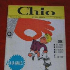 Cómics: CHIO - SEMANARIO REVISTA INFANTIL AÑO 1 Nº 1 - 1965 !!!! PRIMEROS NUMEROS ¡¡¡¡¡ . Lote 27138517