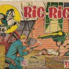 Cómics: RIC RICE EL PACIFICADOR ( CREO ) ORIGINAL 1960 Nº. 6 Y 14. Lote 26874134