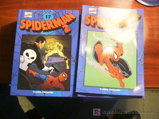 SPIDERMAN. VOLUMEN 2. COLECCION COMPLETA DE 40 NUMEROS. (Tebeos y Comics - Comics Colecciones y Lotes Avanzados)