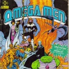 Cómics: OMEGA MEN ( ZINCO ) ORIGINALES 1984-1986 LOTE. Lote 27504155