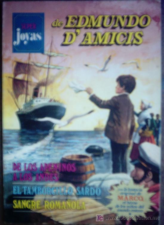 SUPER JOYAS Nº 1 DE EDMUNDO D`AMICIS (Tebeos y Comics Pendientes de Clasificar)