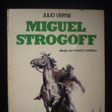 Cómics: MIGUEL STROGOFF. JULIO VERNE. DIBUJOS FRANCO CAPRIOLI EDICIONES PAULINAS 1977 61 PAG. Lote 27278660