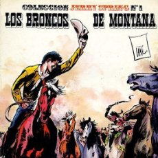 Cómics: JERRY SPRING Nº 1 - LOS BRONCOS DE MONTANA - RO - 1982 - TAPAS CARTÓN BLANDO - 48 PÁGINAS COLOR. Lote 22789178
