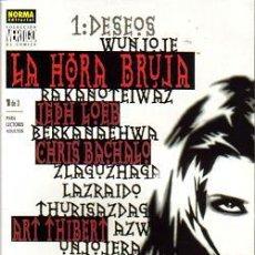 Cómics: COLECCION VERTIGO LA HORA DE LA BRUJA (NORMA) COMPLETO. Lote 26639999