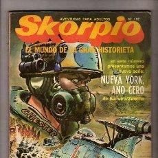 Cómics: SKORPIO Nº112 - JUAN ZANOTTO - LUCHO OLIVERA - ARTURO DEL CASTILLO - E. BRECCIA. Lote 7787605