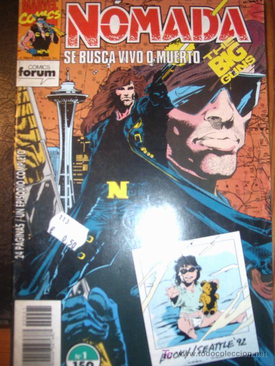 NOMADA ( PLANETA-DEAGOSTINI/FORUM ) ORIGINALES 1993-1994 LOTE (Tebeos y Comics - Comics Pequeños Lotes de Conjunto)