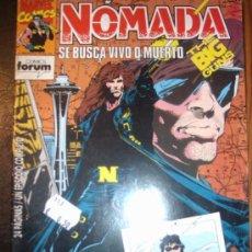 Cómics: NOMADA ( PLANETA-DEAGOSTINI/FORUM ) ORIGINALES 1993-1994 LOTE. Lote 26481098