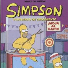 Cómics: SIMPSON PROBLEMAS DE CRECIMIENTO - ENCUADERNACIÓN EN TAPA DURA - (SIN PAGINAR) · PESO: 401 GRAMOS. Lote 7880157