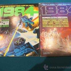 Cómics: 1984 COLECCION COMPLETA .LOS 64 EJEMPLARES. Lote 26422258