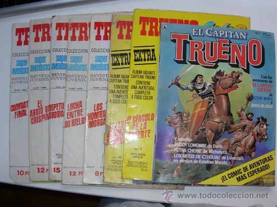 CAPITAN TRUENO TRUENO COLOR LOTE 8 COMICS (Tebeos y Comics - Comics Pequeños Lotes de Conjunto)