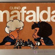 Cómics: 2 COMIC MAFALDA Nº 0-1 LAS TIRAS DE QUINO AÑO 1988 NUEVO. Lote 25722068