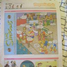 Cómics: SUPLEMENTO PEQUEÑO PAÍS. 18 DE ENERO DE 2004.. Lote 8337343