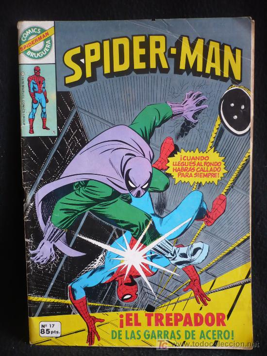 SPIDER-MAN. EL TREPADOR DE LAS GARRAS DE ACERO. Nº 17 (Tebeos y Comics Pendientes de Clasificar)