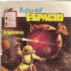 Cómics: RUTAS DEL ESPACIO Nº 5: ¡VIAJE SIN RETORNO! (BARCELONA, 1958). Lote 111975747