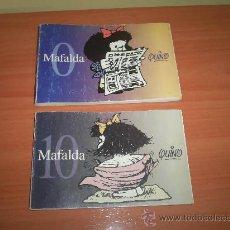 Cómics: MAFALDA , EL 0 Y EL 10. Lote 26446993