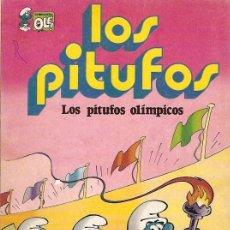 Cómics: COMIC LOS PITUFOS LOS PITUFOS OLIMPICOS . Lote 9674822