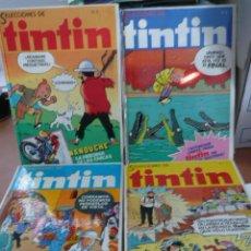 Cómics: TINTÍN. SELECCIONES. ¡¡¡COMPLETA!!! BRUGUERA. 4 TOMOS RETAPADOS DE EDITORIAL. ¡¡MUY DIFÍCIL!!. Lote 27171342
