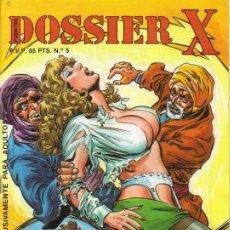 Cómics: DOSSIER X / COMIC PARA ADULTOS / NÚMERO 5. Lote 8845616