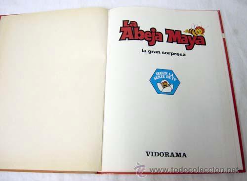 Cómics: La Abeja Maya La Gran Sorpresa Nº 3 Editorial Vidorama 1978 - Foto 2 - 252003020