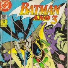 Cómics: BATMAN. AÑO 3 Y CLAYFACE, OBRA COMPLETA (ZINCO) ORIGINAL1990. Lote 26481091