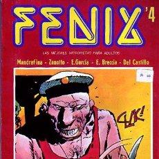 Cómics: FENIX Nº4 - MANDRAFINA - ZANOTTO - ARTURO DEL CASTILLO - E. BRECCIA. Lote 9028367